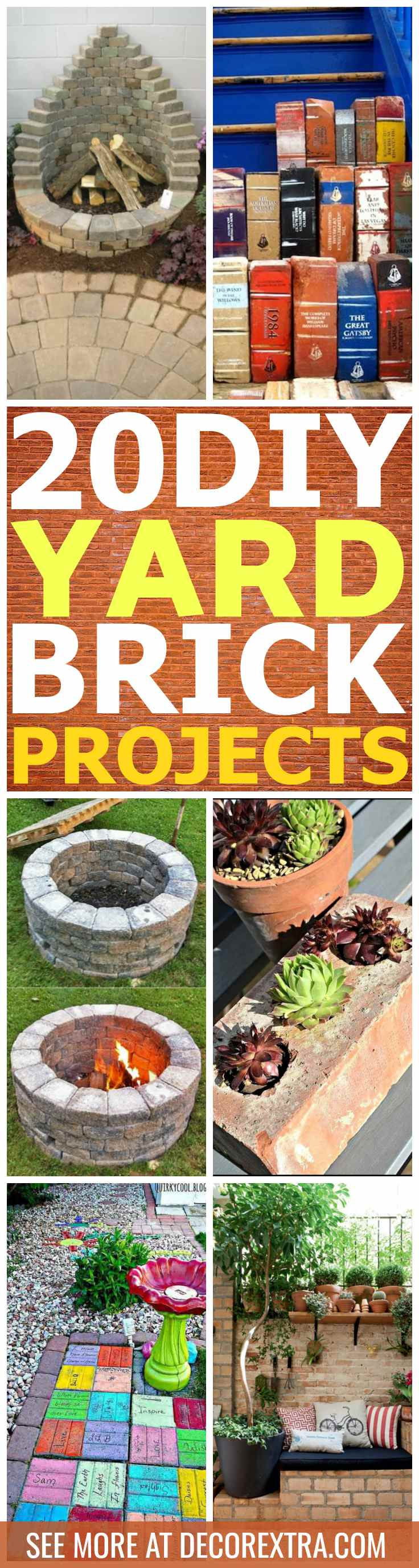 DIY Yard Brick Projects