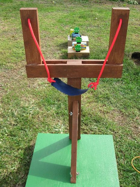 Amazing Idea, Life Sized Angry Birds Game, DIY Backyard Games Perfect For Summer