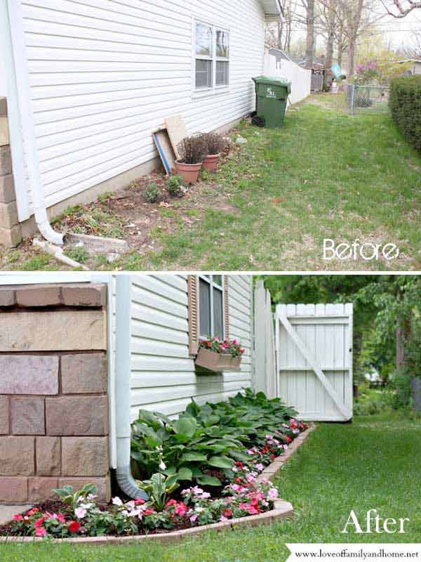 Side Yard Makeover